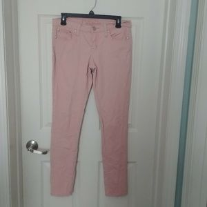 Rue 21 Juniors 7/8 Pink Skinny Stretch Jeans Pants